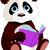 cute panda stock photo © dazdraperma