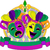mardi gras masks design stock photo © dazdraperma