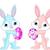 cute · Pâques · vecteur · dessinés · à · la · main · style · illustration - photo stock © dazdraperma