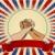 amerikan · bayrağı · dizayn · soyut · Yıldız · mavi · kırmızı - stok fotoğraf © dazdraperma