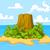 пальма · тропические · пустыне · острове · иллюстрация · Cartoon - Сток-фото © dazdraperma