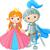 cavaliere · principessa · cartoon · illustrazione · amore · Coppia - foto d'archivio © dazdraperma