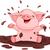 bebek · karikatür · örnek · sevimli · gülümseme - stok fotoğraf © dazdraperma
