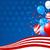 stelle · americano · banner · abstract · bandiera - foto d'archivio © dazdraperma