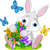Cute · мало · Bunny · большой · ушки · ходьбе - Сток-фото © dazdraperma