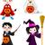kinderen · halloween · kostuums · huis - stockfoto © dazdraperma