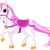 weinig · prinses · paard · cute · paardrijden · goud - stockfoto © dazdraperma