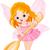 aranyos · tündér · ballerina · illusztráció · kicsi · tánc - stock fotó © dazdraperma