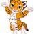cute tiger stock photo © dazdraperma