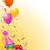 誕生日パーティー · 風船 · 弓 · 実例 · セット · カラフル - ストックフォト © dazdraperma