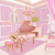 prinses · slaapkamer · interieur · magie · licht · achtergrond - stockfoto © dazdraperma