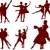 dans · sport · ingesteld · groot · collectie · verschillend - stockfoto © dazdraperma