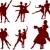 danza · deporte · establecer · grande · colección · diferente - foto stock © dazdraperma