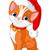 漫画 · クリスマス · ペット · 猫 · 着用 - ストックフォト © dazdraperma