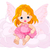 bonitinho · bebê · fadas · sessão - foto stock © dazdraperma