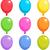 ballonnen · illustratie · verschillend · kleuren · liefde · cartoon - stockfoto © dazdraperma
