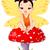 Cute · азиатских · характер · дизайна · шаблон · Азии - Сток-фото © dazdraperma