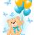 juguetes · osito · de · peluche · bebé · amor · feliz · juguete - foto stock © dazdraperma