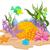 vízalatti · jelenet · korallzátony · tenger · művészet · tapéta - stock fotó © dazdraperma