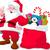 ajándék · karácsony · mikulás · kéz · doboz · íj - stock fotó © dazdraperma