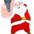 robber santa claus stock photo © dazdraperma