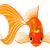 金魚 · クラウン · シームレス · 幸せ · 背景 · 夏 - ストックフォト © dazdraperma