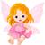 cute · baby · bajki · posiedzenia - zdjęcia stock © dazdraperma