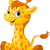 cute giraffe calf stock photo © dazdraperma