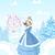 masal · kale · prenses · kış · karikatür · pembe - stok fotoğraf © dazdraperma