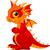 дракон · иконки · рисунок · Cartoon · фантазий · наклейку - Сток-фото © dazdraperma