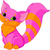 pink kitty stock photo © dazdraperma