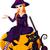 jesienią · bajki · dynia · elf · posiedzenia · charakter - zdjęcia stock © dazdraperma
