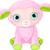 Cute · ягненка · характер · Пасху · овец · белый - Сток-фото © dazdraperma