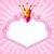 Принцесса · розовый · кадр · идеальный · красивой · девочек - Сток-фото © dazdraperma