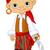mały · pirackich · dziecko · marynarz · kostium · uśmiechnięty - zdjęcia stock © dazdraperma