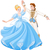 the ball dance of cinderella and prince stock photo © dazdraperma