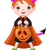 Halloween · Streich · Symbole · Illustration · candy - stock foto © dazdraperma