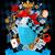 csodaország · terv · őrült · festmény · kártyák · hátterek - stock fotó © dazdraperma