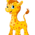 cute giraffe stock photo © dazdraperma