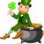 緑 · 帽子 · ポット · 金 - ストックフォト © dazdraperma