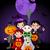 truc · spook · halloween · uitnodiging · huis · maan - stockfoto © dazdraperma