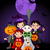 halloween · quadro · olho · luz · laranja · grupo - foto stock © dazdraperma
