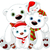 big polar bear family at christmas stock photo © dazdraperma