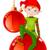 fantezi · Noel · top · soyut · dizayn · sanat - stok fotoğraf © dazdraperma