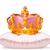 kroon · kussen · aanbiddelijk · kunst · cartoon · magie - stockfoto © dazdraperma