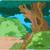 熱帯 · 森林 · 風景 · 緑 · 木 · 葉 - ストックフォト © dazdraperma