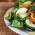 Fresh Salad on White Plate Half stock photo © dbvirago