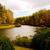automne · lac · arbres · automne · année · ciel - photo stock © dbvirago