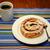 rolar · café · fresco · branco · prato - foto stock © dbvirago