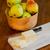 tigela · peras · queijo · fresco · mesa · de · madeira - foto stock © dbvirago